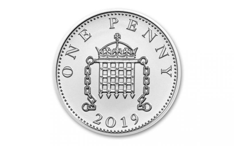 2019 Great Britain Silver Penny The Royal Birth BU