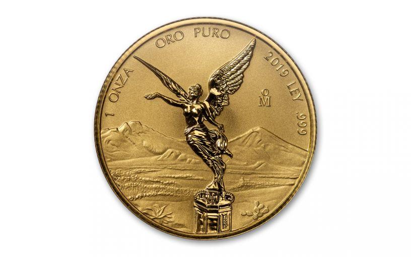 2019-MO Mexico 1-oz Gold Libertad Reverse Proof