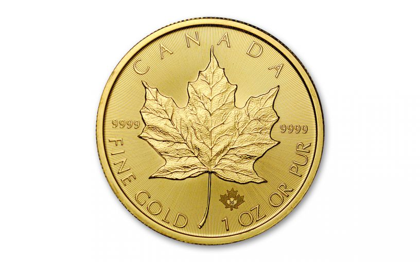 2020 Canada $50 1-oz Gold Maple Leaf BU