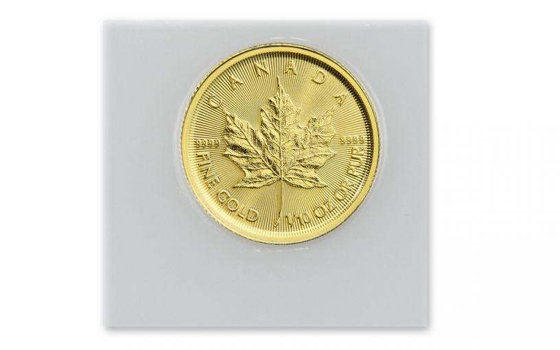 2020 Canada $5 1/10-oz Gold Maple Leaf BU
