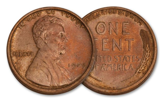 1909-P One-Cent Lincoln VDB CH BU