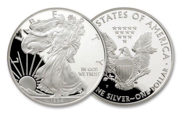 1994 1 Dollar 1-oz Silver Eagle Proof