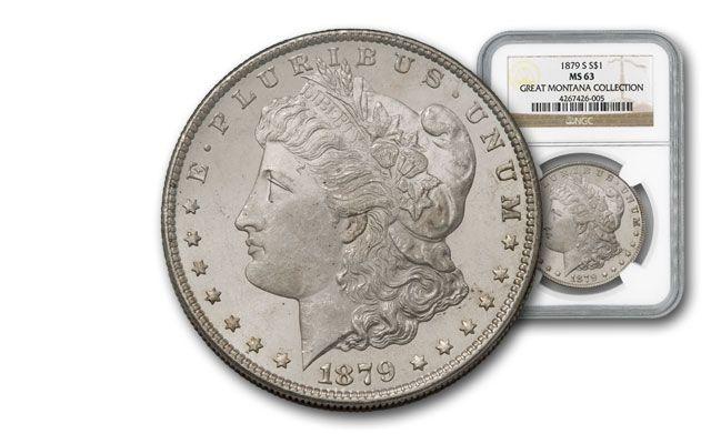 1879-S Morgan Silver Dollar NGC MS63 - Great Montana Collection
