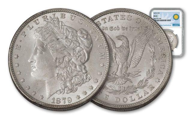 1879-S Morgan Silver Dollar MS65