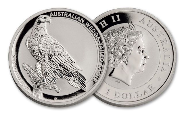 2016 Australia 1-oz Silver Wedge-Tailed Eagle BU
