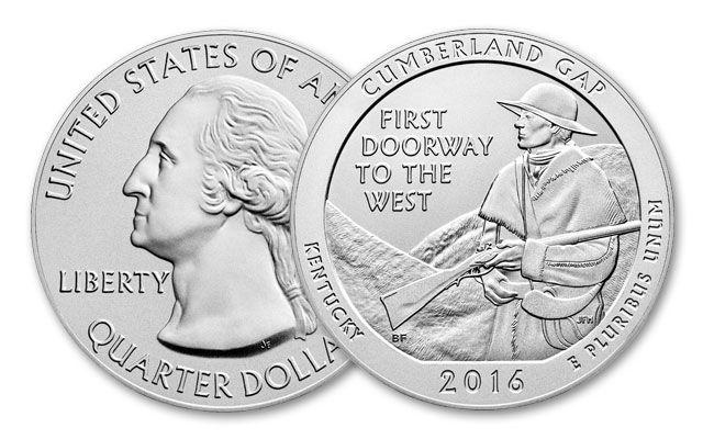 2016 5-oz Silver Cumberland Gap