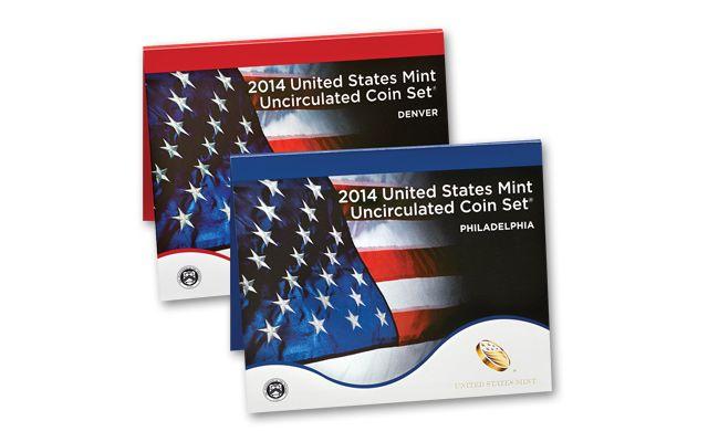 2014 United States Mint Set