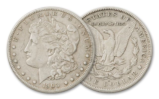 1903-S Morgan Silver Dollar VF
