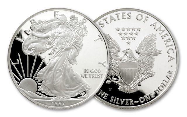 1997-P 1 Dollar 1-oz Silver Eagle Proof