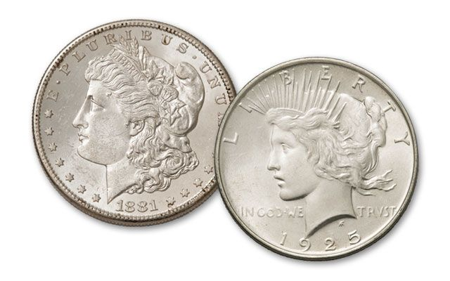 Silver Dollar Two Piece Century Collection