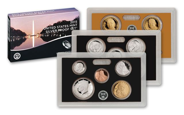 2015 S US SILVER Proof Set National Parks Quarters Comes in US Mint Packaging Proof