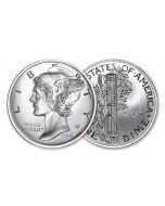 2-oz Silver American Coin Treasures Mercury Dime