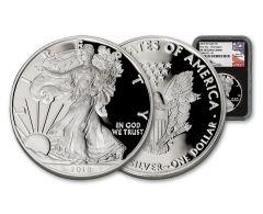 2018-W $1 Silver Eagle NGC PF70UC FDI Mercanti WDC Black Core