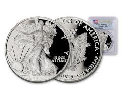 2018-W 1 Ounce $1 Silver Eagle PCGS PR70 DCAM