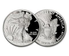 2018-S $1 1-oz Silver Eagle Gem Proof