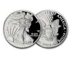 2019 $1 1-oz Silver American Eagle Proof