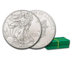 2019 $1 1-oz Silver American Eagle BU 500-Piece Monster Box