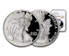 2019-W $1 1-oz Silver American Eagle NGC PF69UC