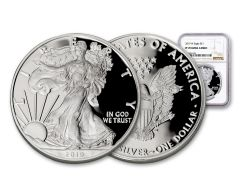 2019-W $1 1-oz Silver American Eagle NGC PF70UC