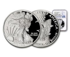 2019-W $1 1-oz Silver American Eagle NGC PF70UC Early Releases