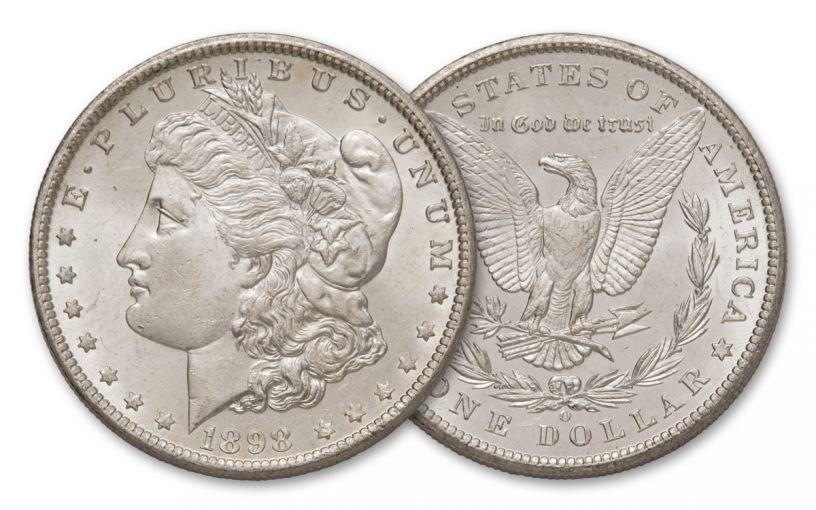 1898-O Morgan Silver Dollar BU