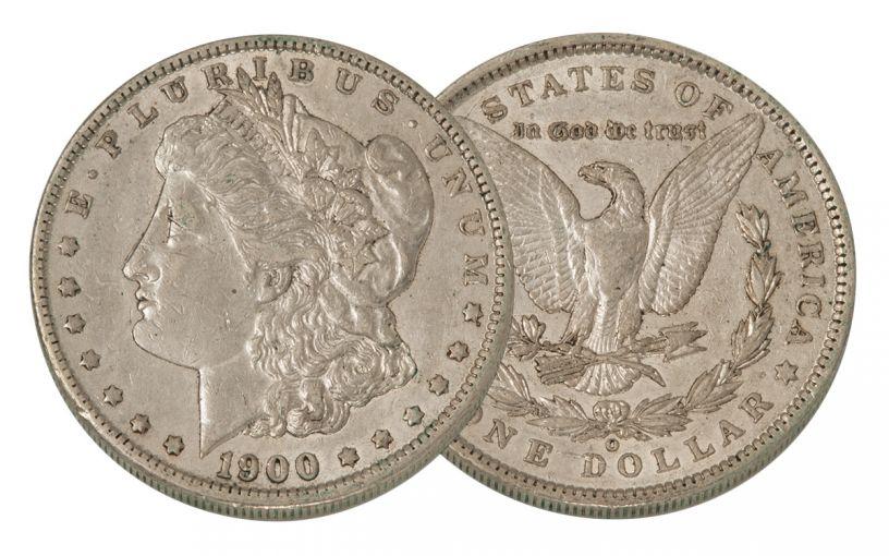 1900-O Morgan Silver Dollar XF