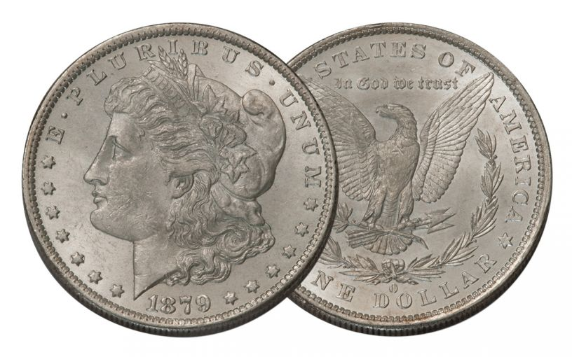 1879-O Morgan Silver Dollar BU