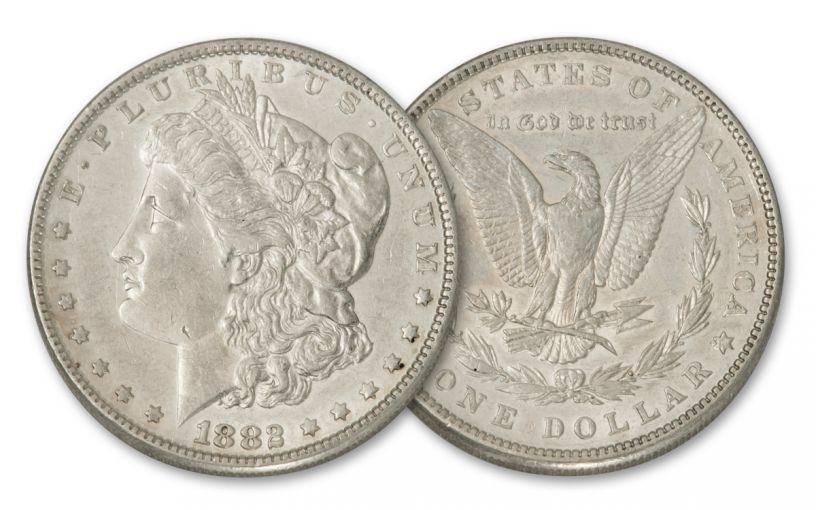 1882-P Morgan Silver Dollar BU