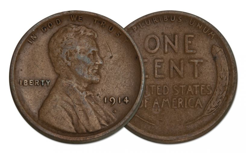 1914-S 1 Cent Lincoln F