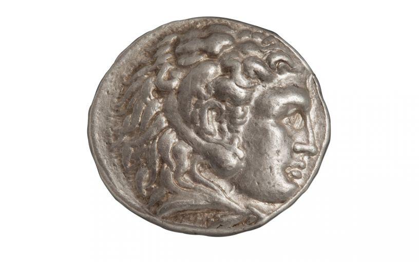 Alexander III Tetradrachm of Babylon NGC XF
