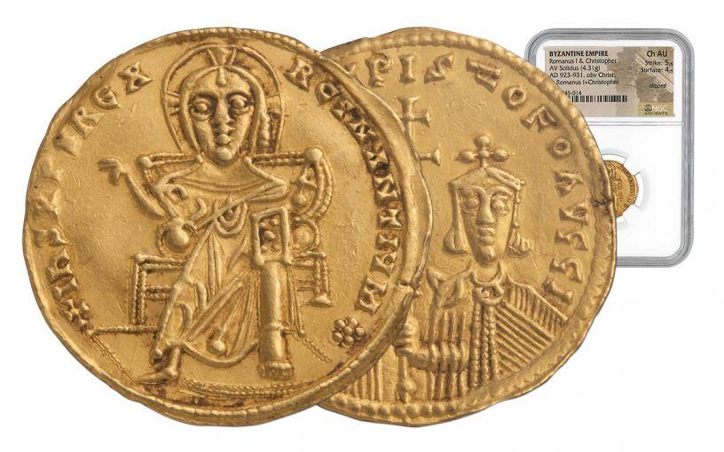 1059-1067 AD Byzantine Nomisma Constantine X NGC CH MS