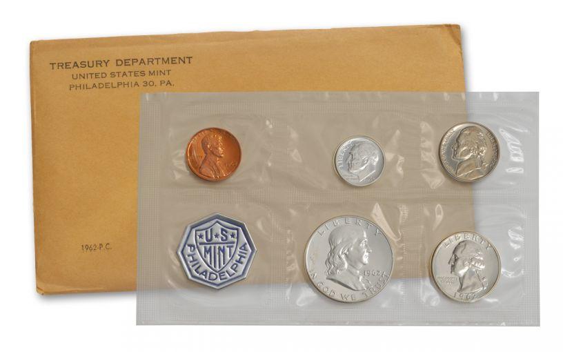 1962 U.S. Proof Set Sealed