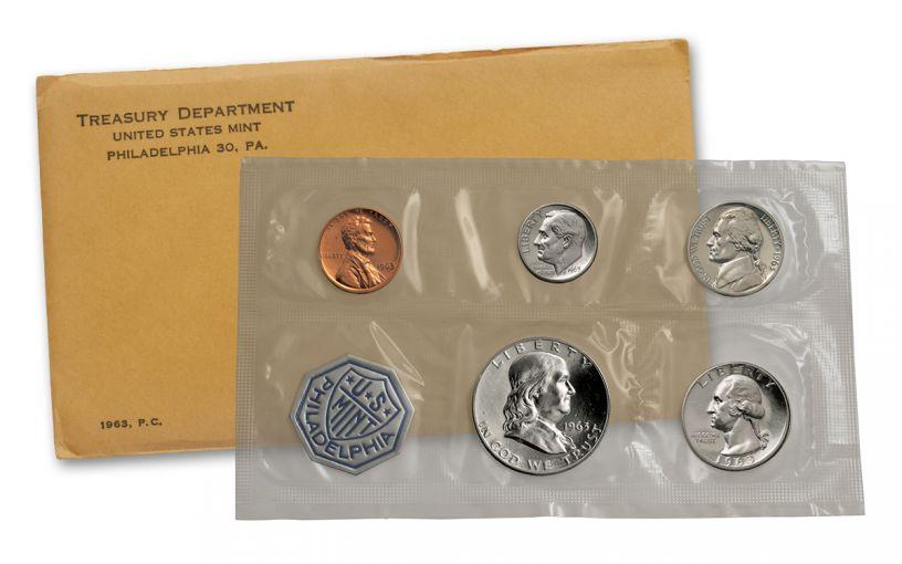 1963 U.S. Proof Set Sealed