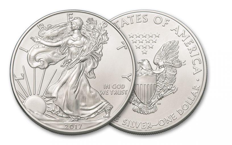 2017 1 Dollar 1-oz Silver Eagle BU