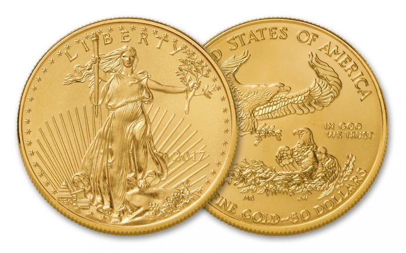 2017 50 Dollar 1-oz Gold Eagle BU