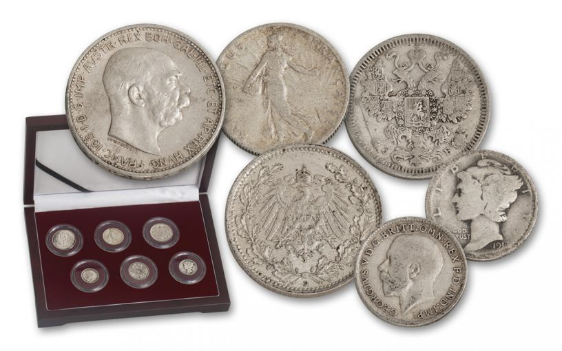 1914-1918 The Great War 6 Pc Set