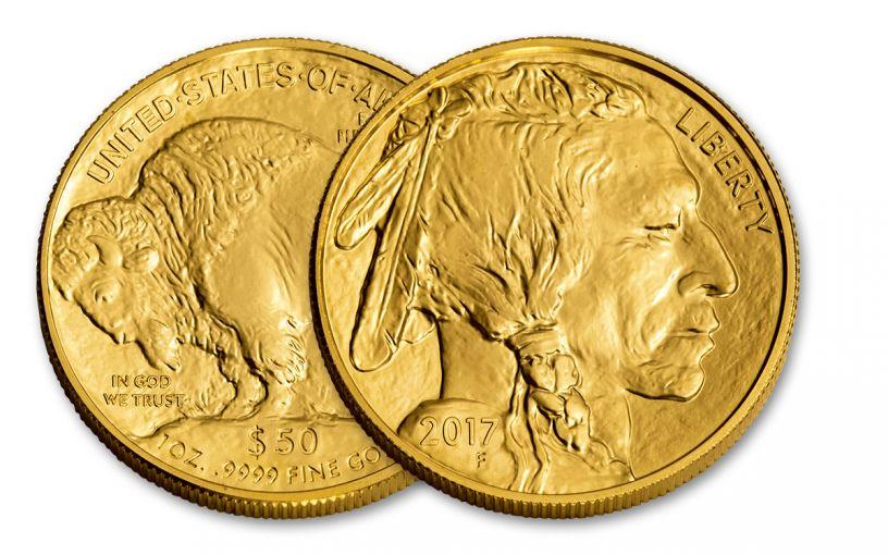 2017 50 Dollar 1-oz Gold Buffalo BU