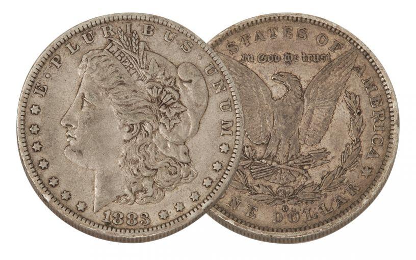 1883-O Morgan Silver Dollar VF