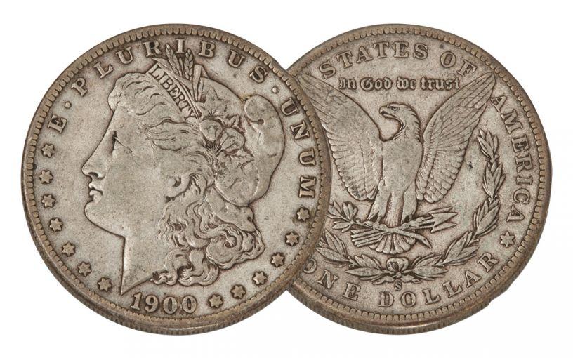 1900-S Morgan Silver Dollar VF
