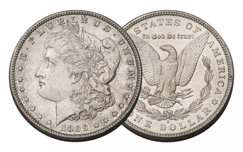 1899-S Morgan Silver Dollar BU