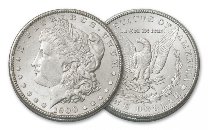 1900-S Morgan Silver Dollar BU