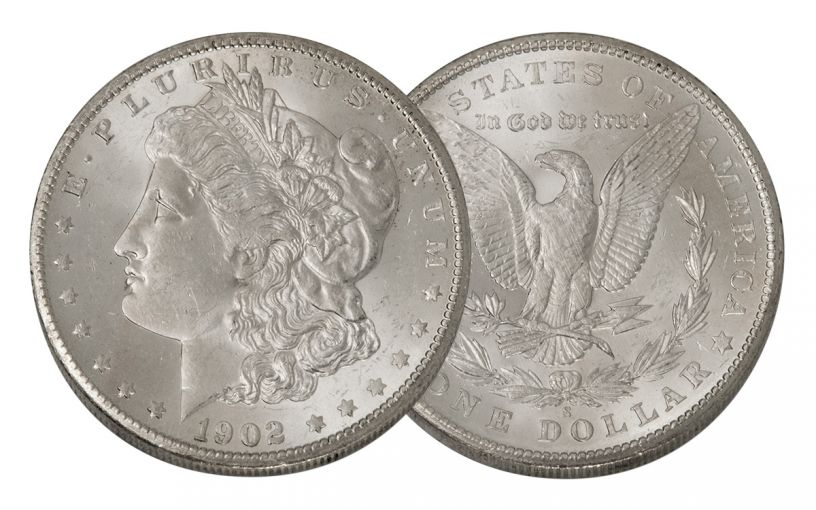 1902-S Morgan Silver Dollar BU