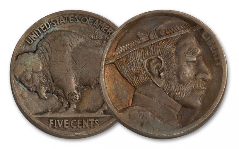 1913-1938 Traditional Style Hobo Nickel #2