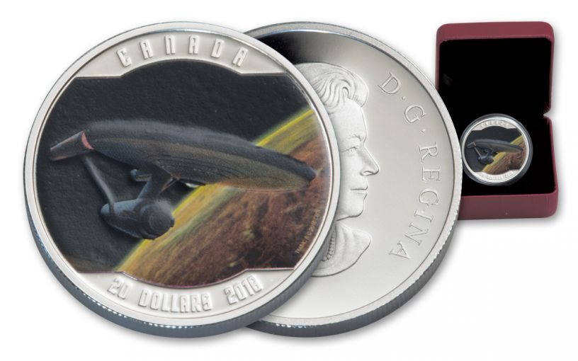 2016 Canada 20 Dollar 1-oz Silver Enterprise Gem Proof