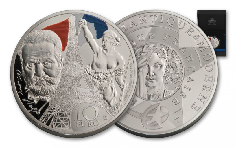 2017 France 1-oz Silver Europa Star Age of Iron Proof
