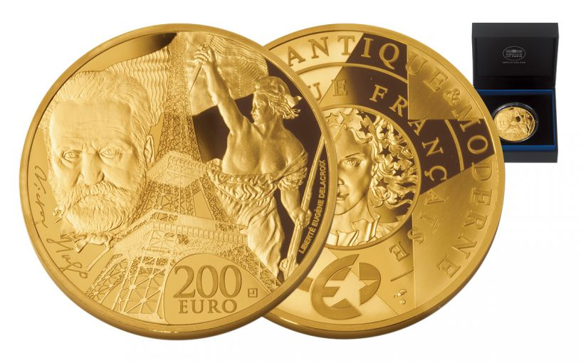 2017 France 200 Euro 1-oz Gold Europa Star - Age of Iron Proof