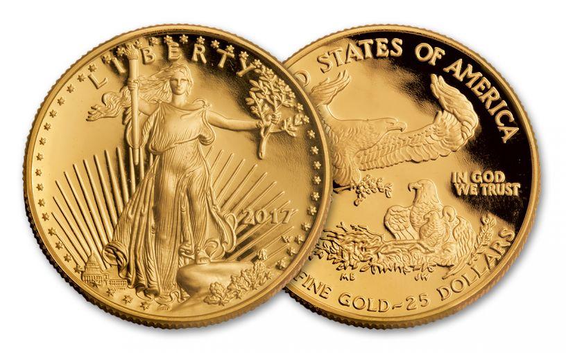 2017-W 25 Dollar 1/2-oz Gold Eagle Proof