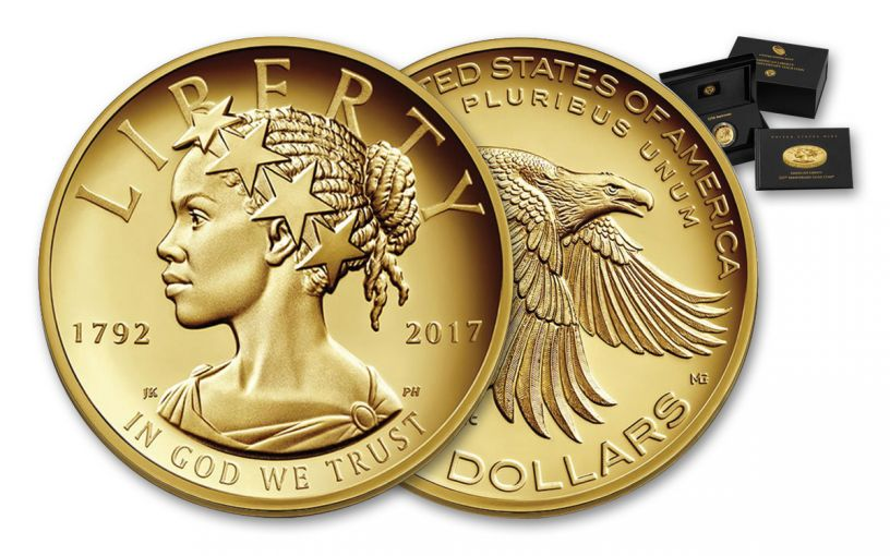 2017-W 100 Dollar 1-oz Gold Liberty High Relief Proof
