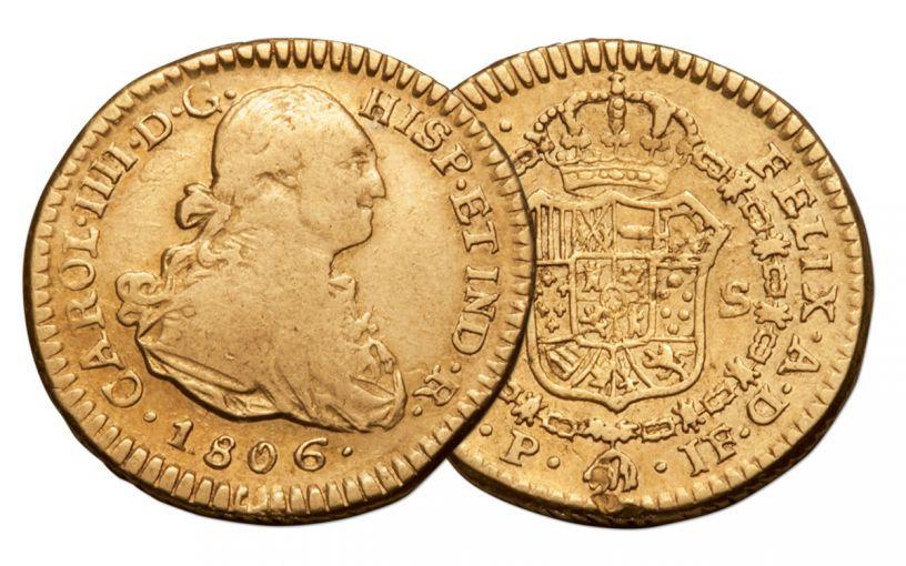 1772-1821 Spain Gold 1 Escudo NGC VF