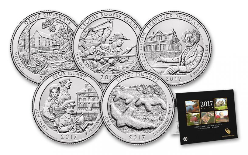 2017 ATB Quarters Uncirculated Coin Set